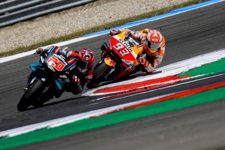 Peluang Quartararo Saingi Marquez di MotoGP San Marino 2019