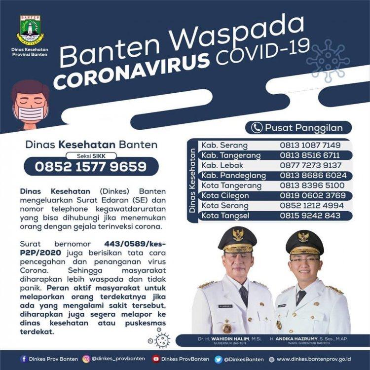 Info Covid-19 Kabupaten Lebak