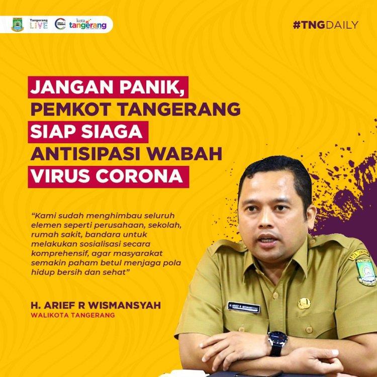 Info Covid-19 Kota Tangerang Selatan