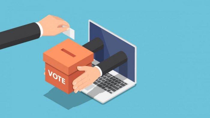 SMAN 1 Bandung Pilih Osis Secara Online