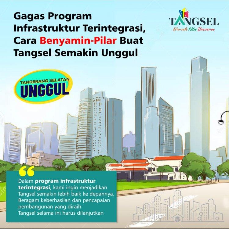 Lewat Program Infrastruktur Terintegrasi, Ikhtiar Benyamin-Pilar Buat Tangsel Semakin Unggul