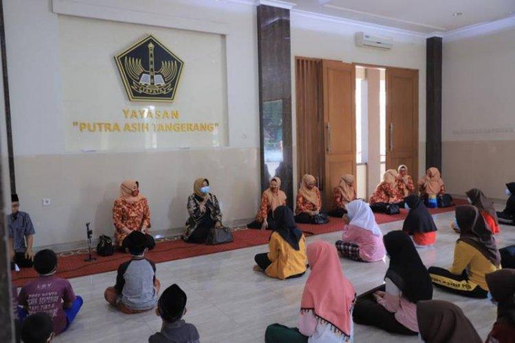 Kunjungi Yayasan Putra Asih Tangerang Berikan Santunan