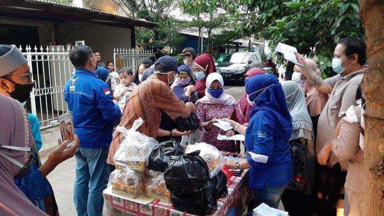 Sinergi Partai Demokrat dan Ketua Komisi I DPRD Provinsi Banten Gelar Bakti Sosial