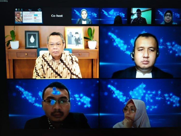 Sosialisasi APSAI Tangsel, DPMP3AKB Gelar Webinar Literasi Digital Bersama Kemenkominfo RI