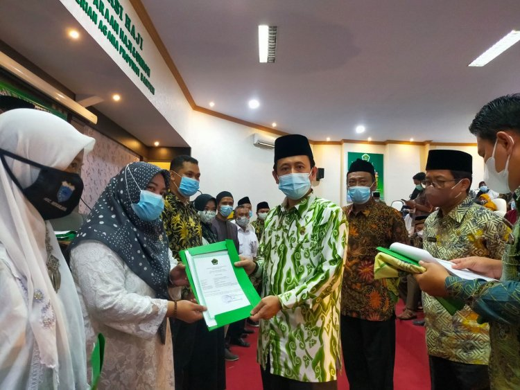 Kemenag Banten Pastikan Urus Izop Madrasah Gratis