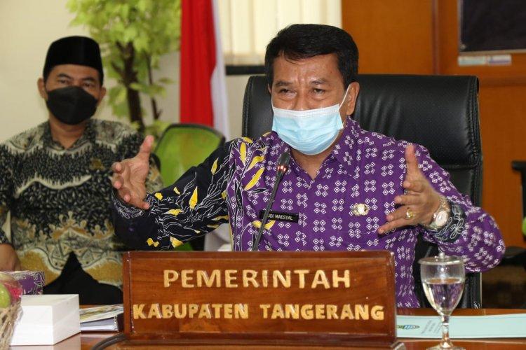 Pemkab Tangerang Berlakukan Simulasi PTM Senin Besok