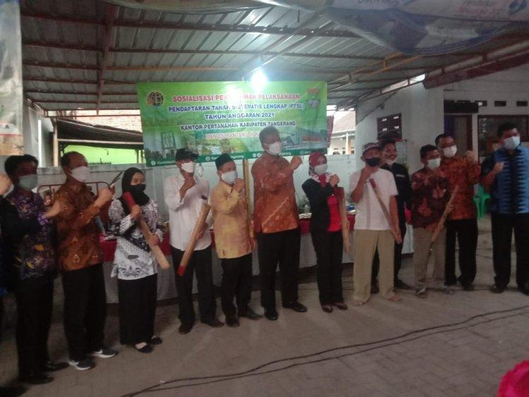 BPN Prioritaskan Desa Babakan Asem PTSL Tahun 2021