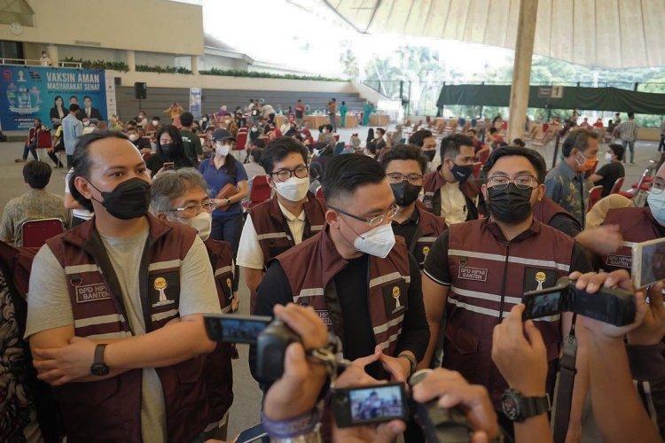 HIPMI Banten Apresiasi Gelaran Vaksinasi HIPMI Kota Tangerang