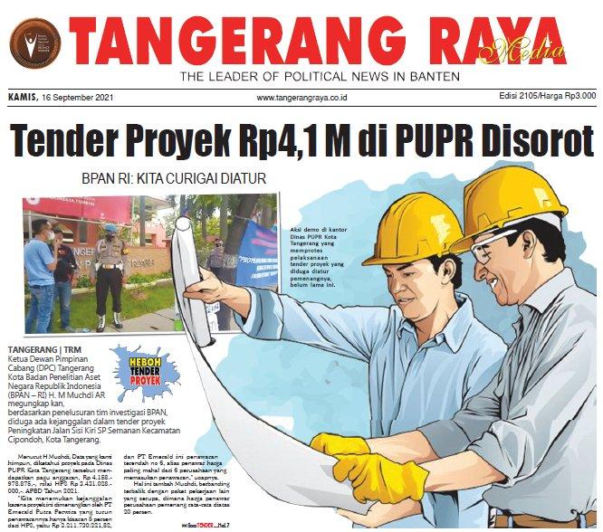 Tender Proyek Rp4,1 M di PUPR Disorot