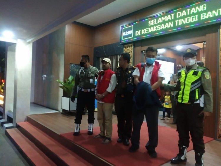 Mantan Sekdis Dikbud Banten Ditangkap