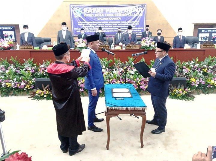 Julham Firdaus Syah Jabat Anggota DPRD Tangsel