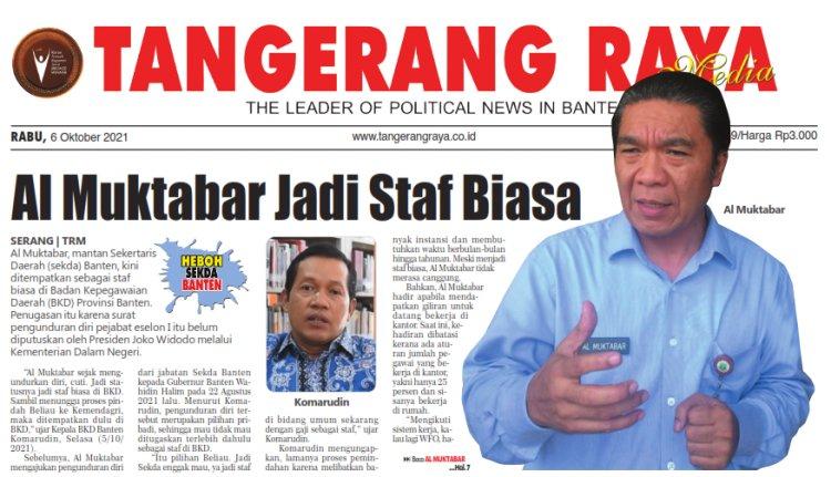 Al Muktabar Jadi Staf Biasa