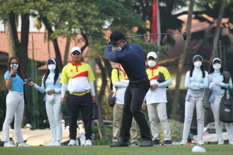 Dibuka Wagub Andika, Banten Golf Open Tournament 2021 Diikuti Peserta Pro & Amatir